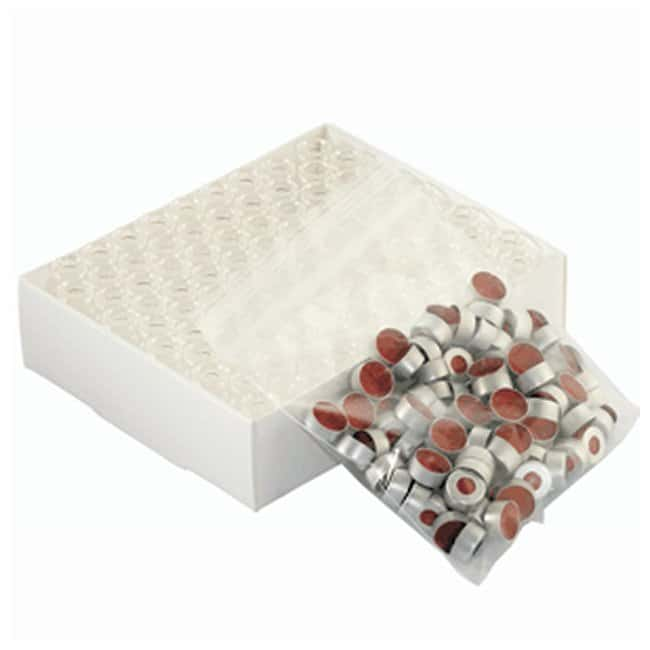DWK Life SciencesWheaton™ 12 x 32mm E-Z Vial™ Convenience Pack with 11mm Crimp Finish and Clear Vial: Autosampler-Fläschchen und Fläschchen-Sets Autosampler-Fläschchen, Kappen und Verschlüsse