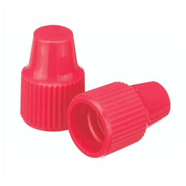 DWK Life Sciences Wheaton™ Polypropylene Caps for Wheaton Dropping Bottles - Red Screw cap size: 8-425; 1000/Cs. Products