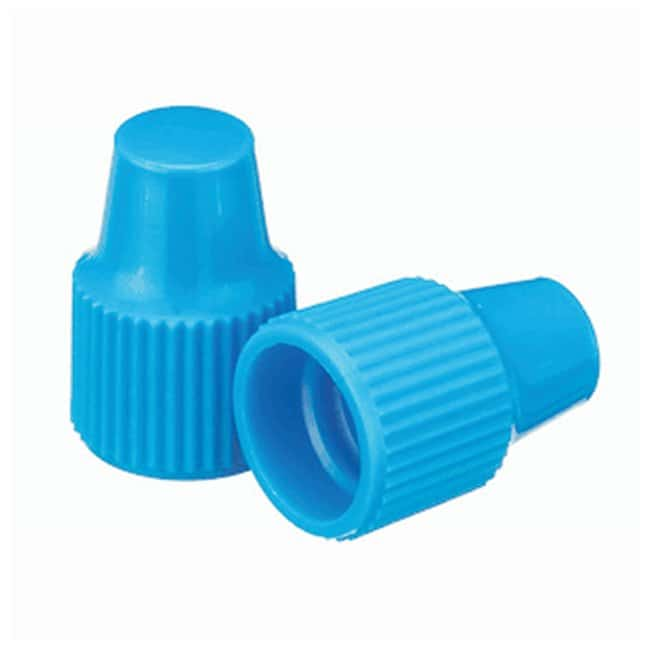 DWK Life Sciences Wheaton™ Polypropylene Caps for Wheaton Dropping Bottles - Blue