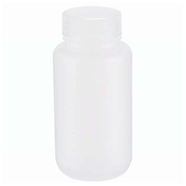 DWK Life Sciences Wheaton™ Leak-Resistant Wide-Mouth Natural PP Bottles