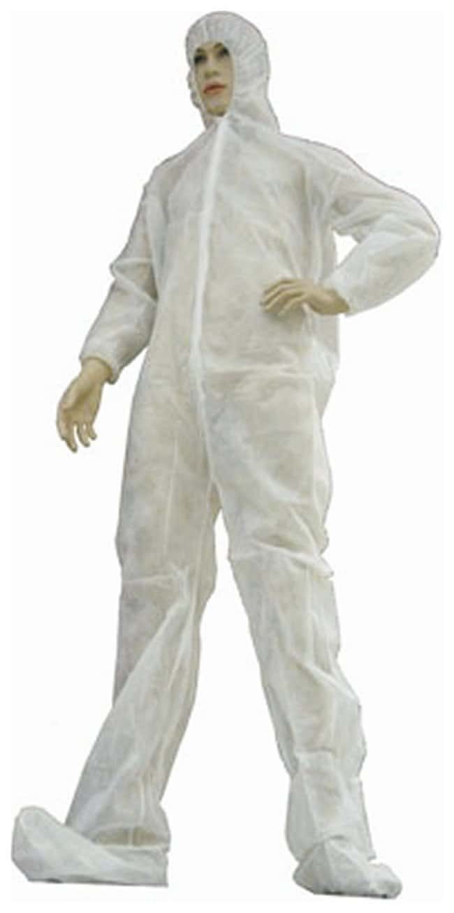 Tians epic Polypro Coverall Medium; 17L x 10W x 8 in.H:Gloves, Glasses