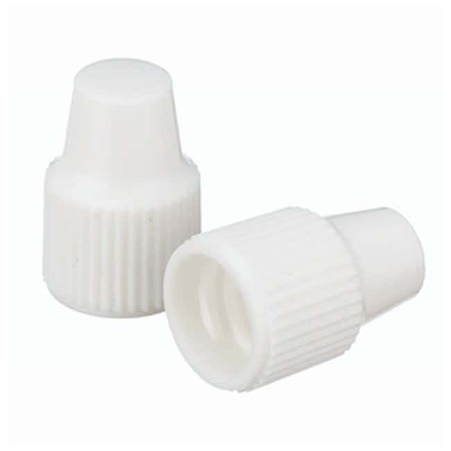 DWK Life Sciences Wheaton  Polypropylene Caps for Wheaton Dropping Bottles - White