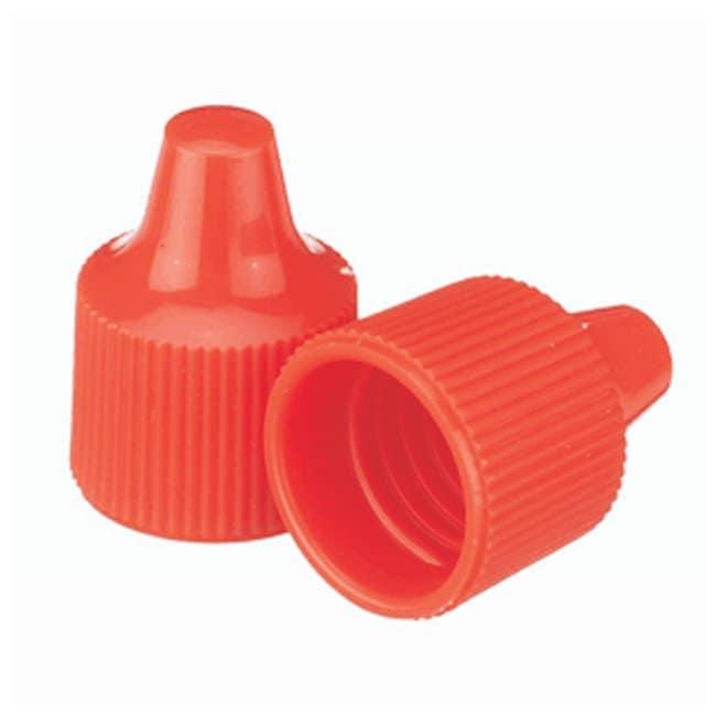 DWK Life SciencesWheaton™ Polypropylene Caps for Wheaton Dropping Bottles - Orange