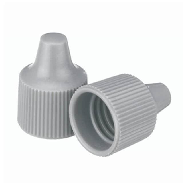 DWK Life SciencesWheaton™ Polypropylene Caps for Wheaton Dropping Bottles - Gray Screw cap size: 15-425; 1000/Cs. Products
