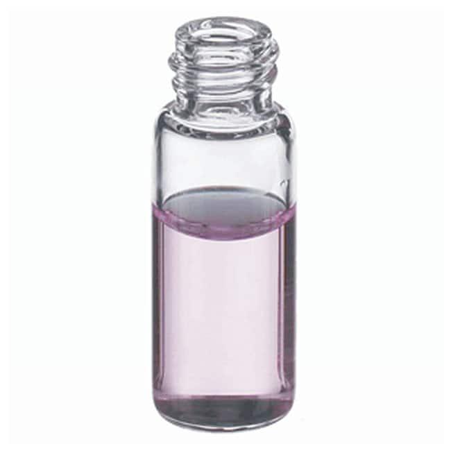 DWK Life SciencesWheaton™ E-C Borosilicate Glass Screw Thread Sample Vials without Caps Clear; GPI Thread: 8-425; 1.5mL DWK Life SciencesWheaton™ E-C Borosilicate Glass Screw Thread Sample Vials without Caps