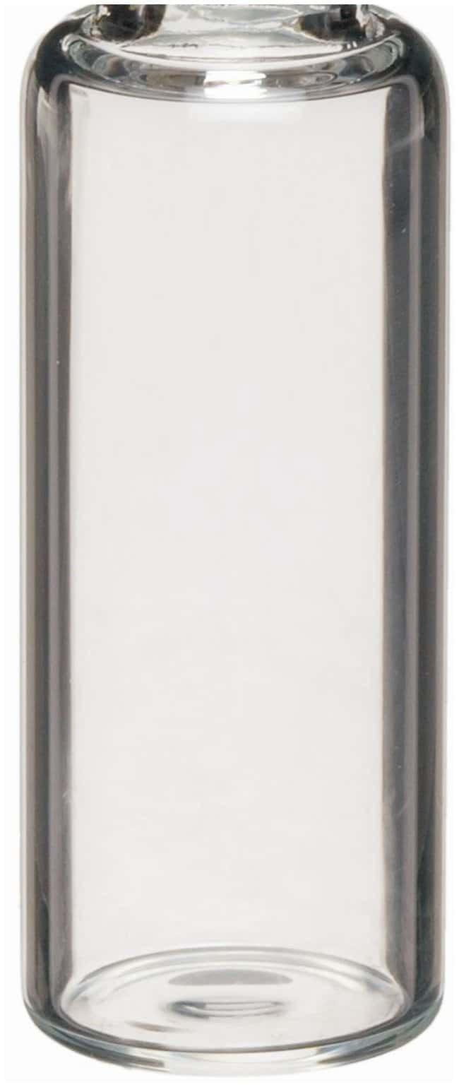 DWK Life Sciences Wheaton™ E-C Borosilicate Glass Screw Thread Sample Vials without Caps Clear; GPI Thread: 24-400; 20mL DWK Life Sciences Wheaton™ E-C Borosilicate Glass Screw Thread Sample Vials without Caps
