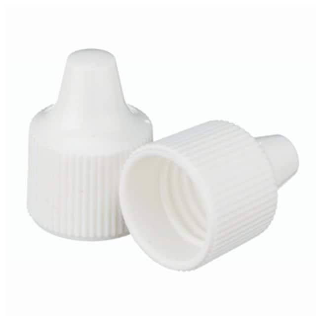 DWK Life SciencesWheaton™ Polypropylene Caps for Wheaton Dropping Bottles - White