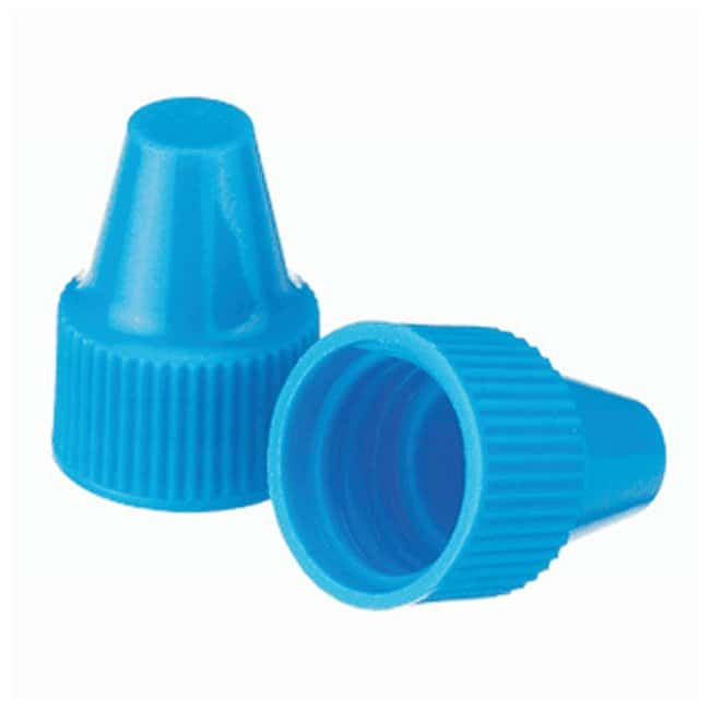 DWK Life Sciences Wheaton  Polypropylene Caps for Wheaton Dropping Bottles - Blue