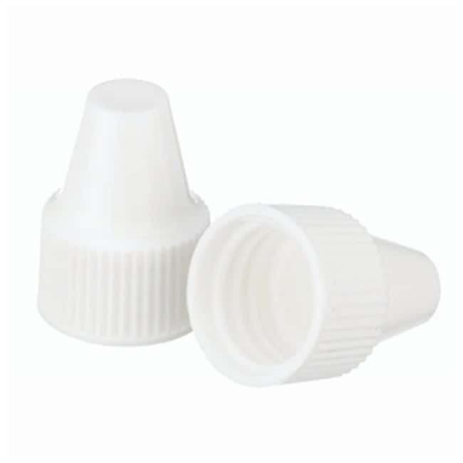 DWK Life Sciences Wheaton™ Polypropylene Caps for Wheaton Dropping Bottles - White Screw cap size: 13-425; 1000/Cs. Products