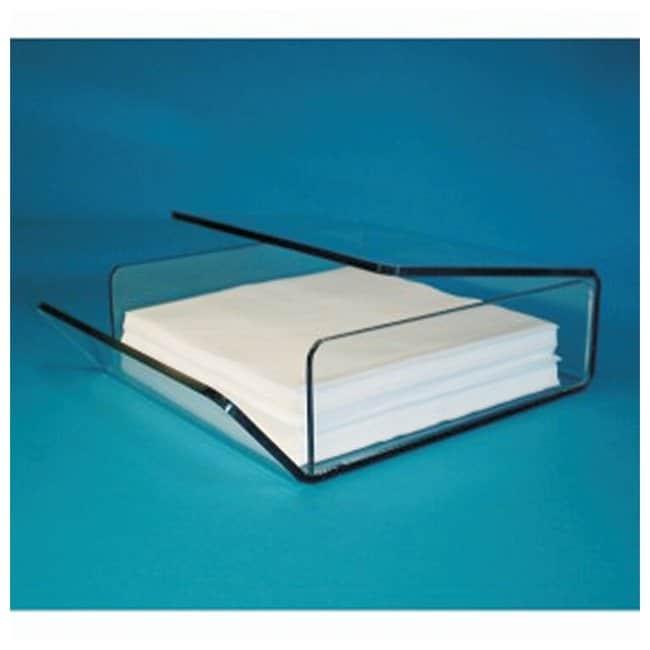 S-CurveWiper Dispensers IPA safe PETG materisl; Size: 9.5D x 9.5W x 3 in.H;