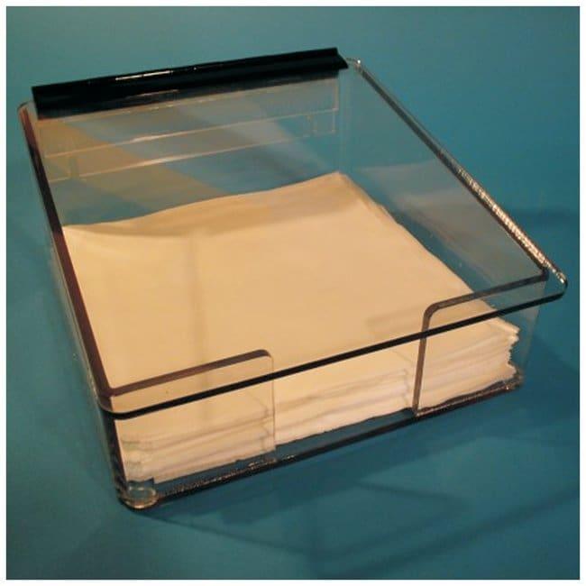 S-CurveWiper Dispensers IPA safe PETG material; 12.5D x 12.5W x 5.5 in.H;
