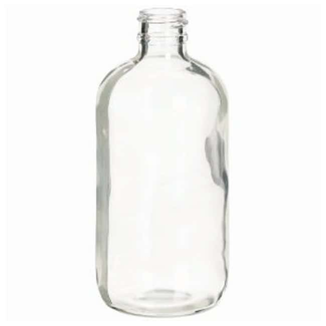 DWK Life Sciences Wheaton™ Safety-Coated Bottles without Closures 8 oz. (250mL); Clear DWK Life Sciences Wheaton™ Safety-Coated Bottles without Closures
