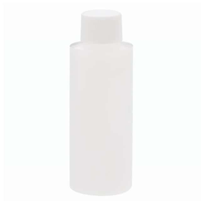 DWK Life Sciences Wheaton  Natural HDPE Cylinder Rounds with Foamed PE-Lined Caps