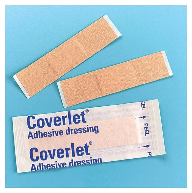BSN Jobst Coverlet Adhesive Dressings Strip; 1.9 x 7.6cm (0.75 x 3 in.):Gloves,