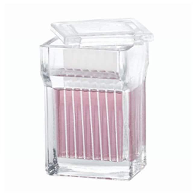 DWK Life Sciences Wheaton Staining Jars, 8-10 Slide Unit  Staining jar:Histology