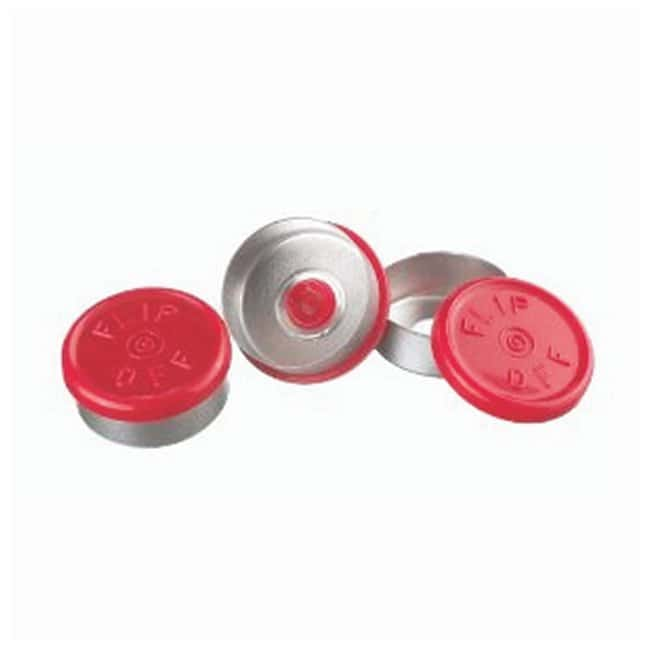 DWK Life Sciences Wheaton™ Aluminum Seals: Flip Cap