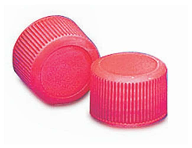 DWK Life Sciences Wheaton™ Red Polypropylene Caps for Narrow-Mouth Containers
