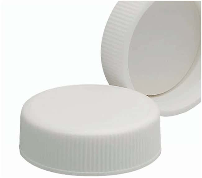 DWK Life Sciences Wheaton  White Polypropylene Caps with Foam/LDPE Liners