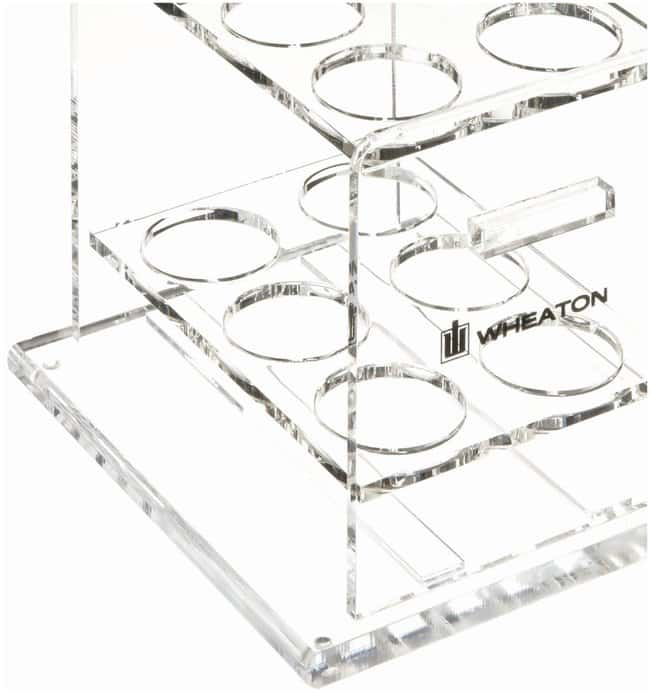 DWK Life Sciences Wheaton Hybridization Rack  Acrylic rack:Test Tubes,