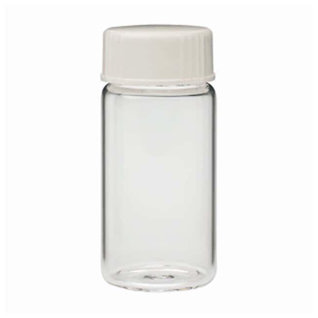 DWK Life Sciences Wheaton Glass 20mL Scintillation Vials and Urea Caps