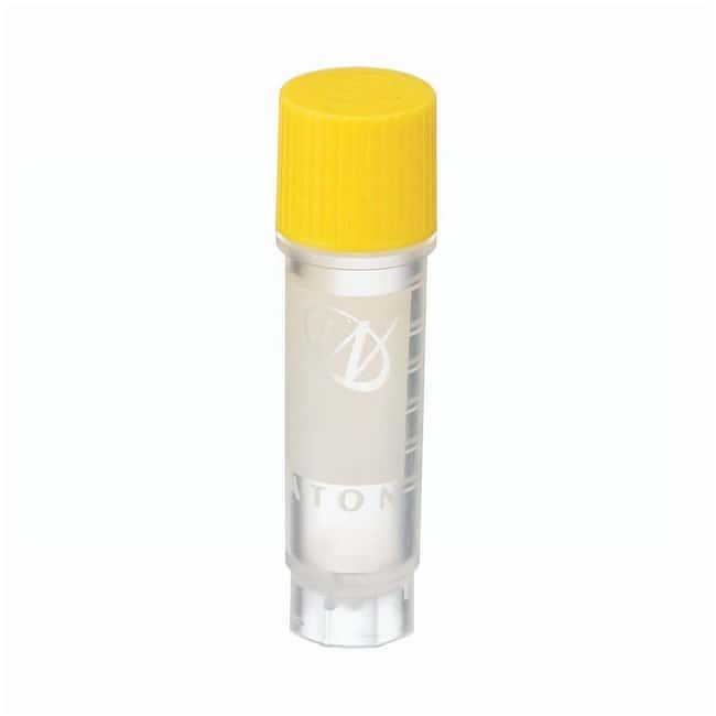 DWK Life Sciences Wheaton™ CryoELITE™ Cryogenic Storage Vials Externally threaded; 2mL; Yellow DWK Life Sciences Wheaton™ CryoELITE™ Cryogenic Storage Vials