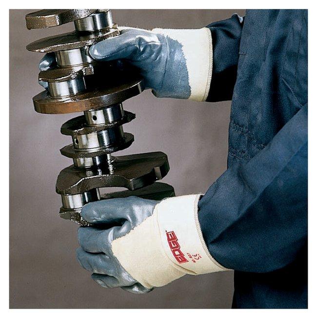 Ansell Edge 40-105 Gloves Palm coated; Slip-on; Men's; Large (9):Gloves,