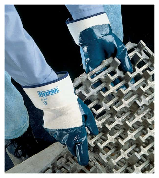 Ansell Hycron 27-600 Series Nitrile-Coated Gloves Palm Coated; Size: 9:Gloves,