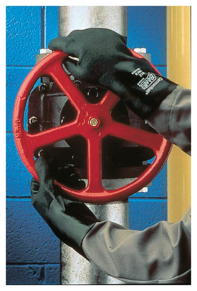 SHOWA Cannonball PVC-Coated Gauntlets Length: 12 in.; Size: 10:Gloves,