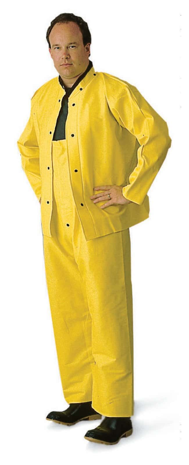 MCR Safety Heavy-Duty Ribbed PVC Suit Size (fits chest/waist): X-Large