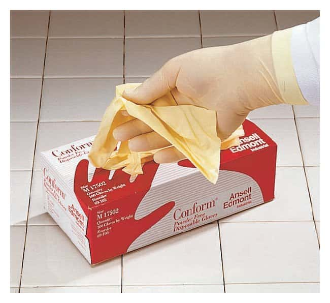 Ansell™ Touch N Tuff™ Powder-Free Latex Exam Gloves