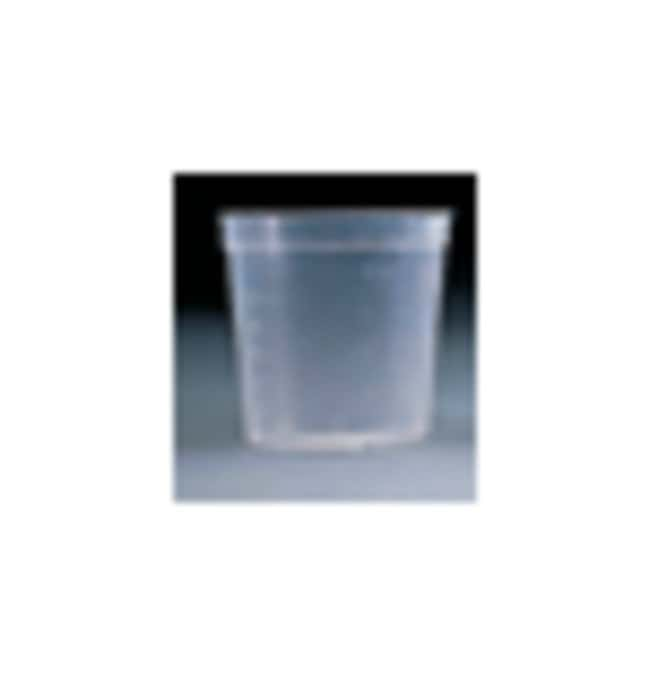 Falcon™ Sterile Sample Containers Capacity: 4.5 oz. (110mL); Without Lid Falcon™ Sterile Sample Containers