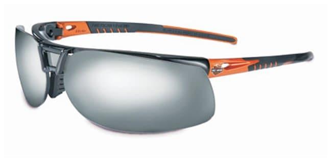 Honeywell Harley-Davidson HD1100 Series Safety Glasses With orange, black