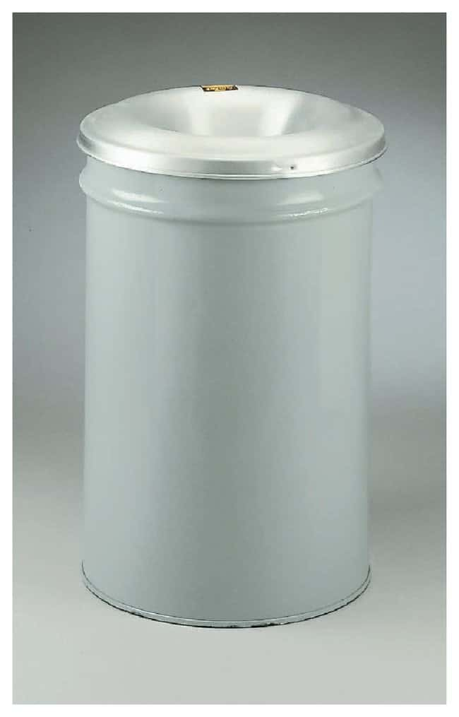 Justrite™Cease-Fire™ Waste Receptacle Capacity: 12 gal. (45.4L) Justrite™Cease-Fire™ Waste Receptacle