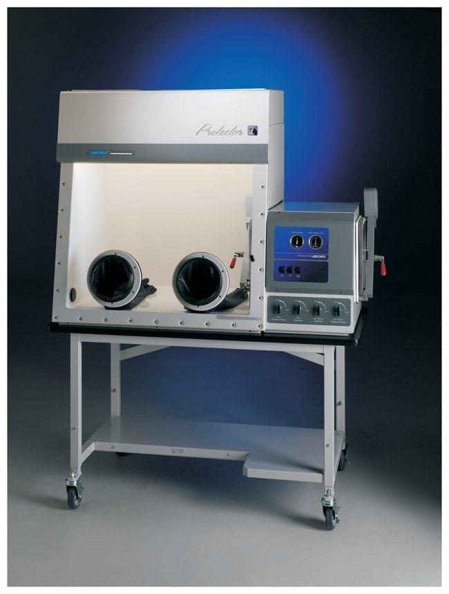 Labconco Protector Fiberglass Controlled Atmosphere Glove Box w/2 Ports:Fume