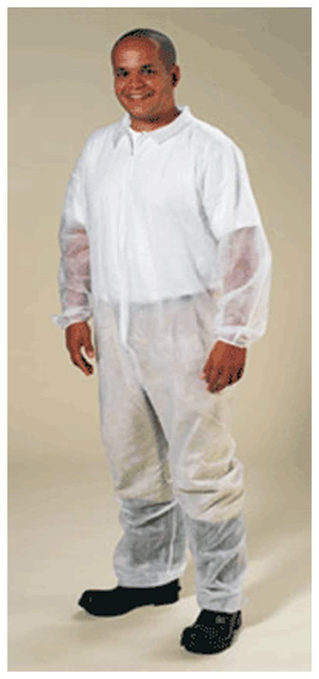 High Five Spunbond Polypropylene Coveralls 5X-Large:Gloves, Glasses and
