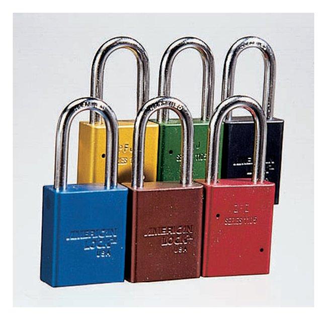 American LockSafety Lockout Padlocks:Facility Safety and Maintenance:Lockout-Tagout