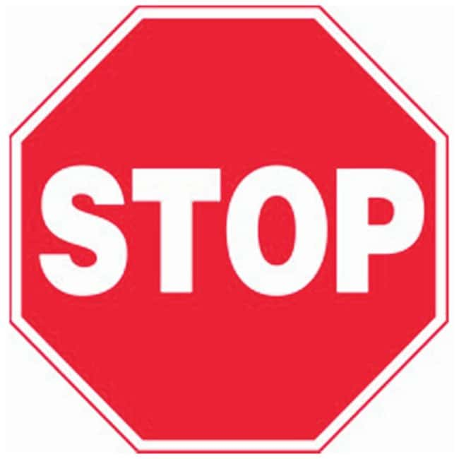 Accuform Signs Traffic Safety Signs: Stop