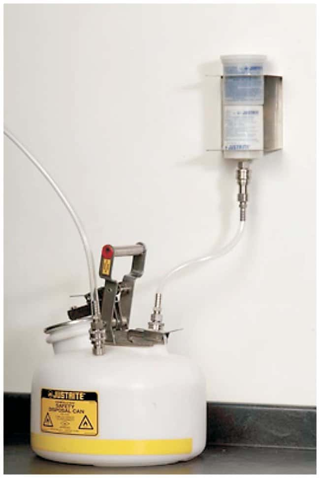 Justrite HPLC Remote Wall Bracket Kit Remote Wall Bracket Kit:Gloves, Glasses