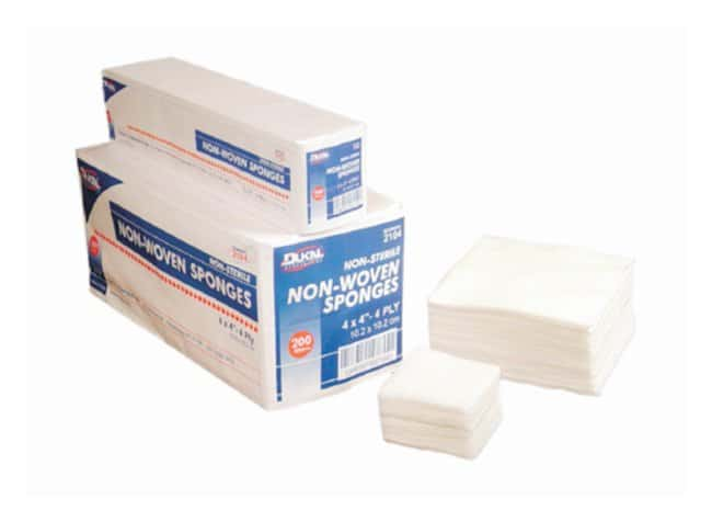 Dukal Non Woven Sponges New Sponges; 4 x 4 in.:Gloves, Glasses and Safety