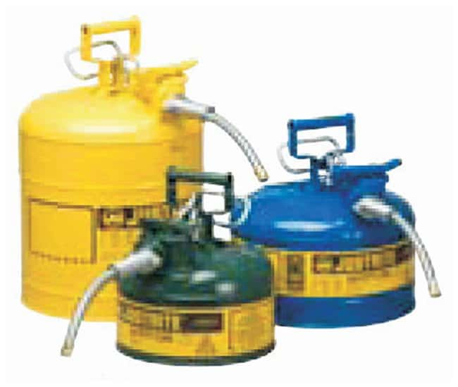 Justrite™Type II AccuFlow™ Steel Safety Can for Flammables