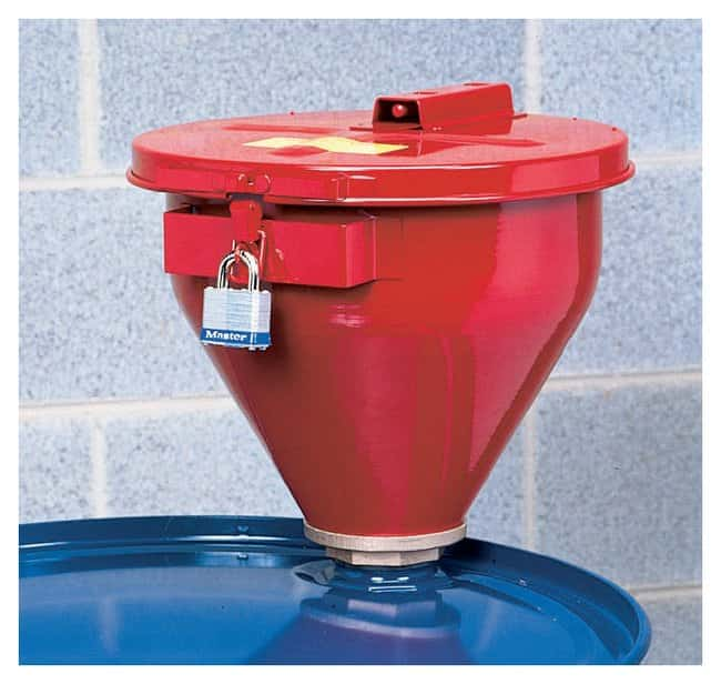 Justrite™Drum Safety Funnels With 6 in. Flame Arrestor Justrite™Drum Safety Funnels