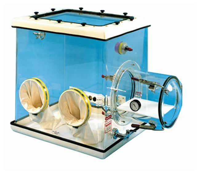 Plas Labs Model 830 Compact Glove Box :Fume Hoods and Safety Cabinets:Laboratory