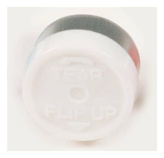 DWK Life SciencesKimble™ Kontes™ Flip, Tear-Off Button Top Aluminum Seals, Color Coded