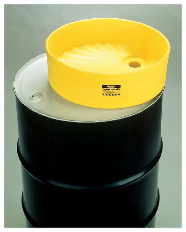 EagleSpill-Control Drum Funnel Cover Cover:Facility Safety and Maintenance