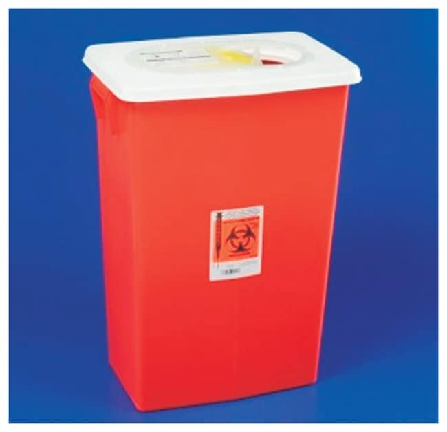 Covidien Large-Volume Sharps Containers