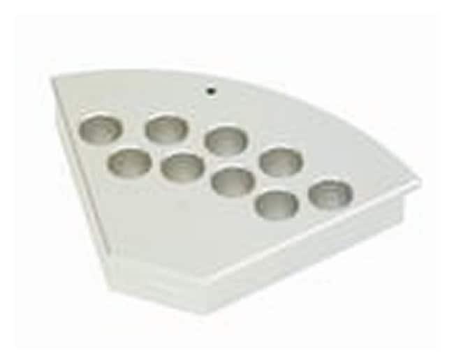 HeidolphStarFish Workstation Component - PolyBlocks For 3 x 28mm vials:Hotplates