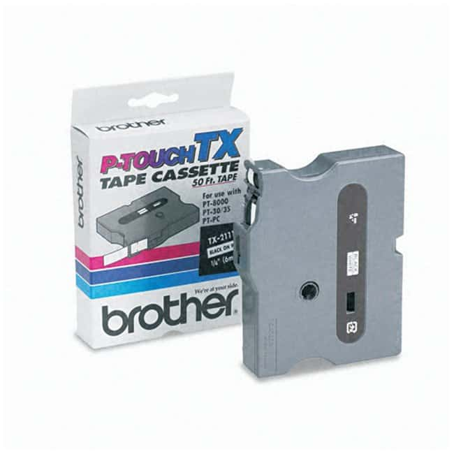Allied NationalBrother™ Laminated Adhesive Tape for PT-8000 and PT-PC Labeling Systems