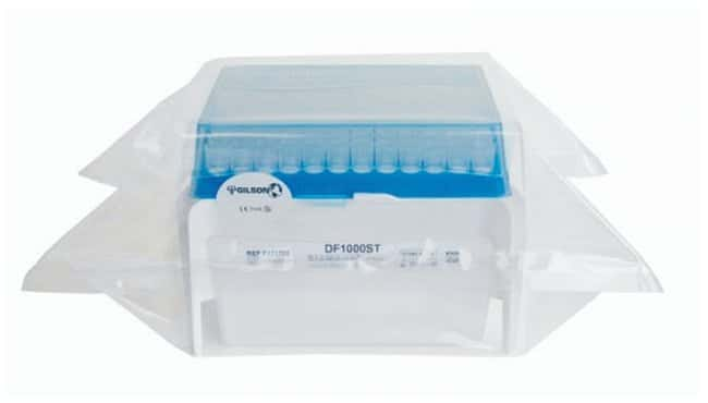 Gilson™ PIPETMAN™ Tipack™ Filter Tips Model: DF1000ST; Vol.: 100 to 1000μL; Length (Tip): 51mm Gilson™ PIPETMAN™ Tipack™ Filter Tips