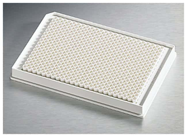 Corning™ 384-Well Low-Volume Solid Microplates Flat bottom; Solid white; Nonbinding surface treated Corning™ 384-Well Low-Volume Solid Microplates