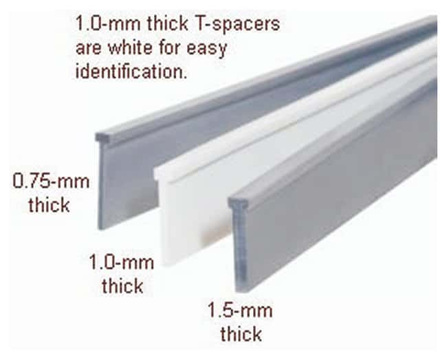 Hoefer™SE 250 Vertical Electrophoresis Unit Accessory, T-Spacers